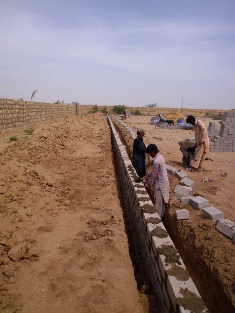 PLOTS & LAND Farm Houses on installments near Bahria Town Super Highway Karachi