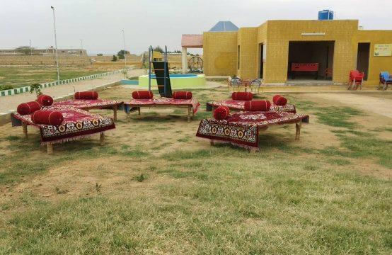 PLOTS & LAND Farm Houses on installments near DHA City Super Highway Karachi
