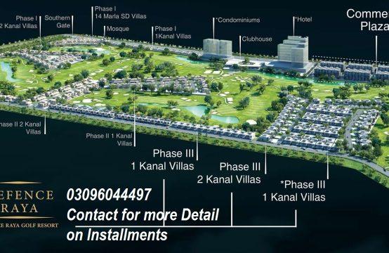 DHA Raya Golf Course Resorts on Installments