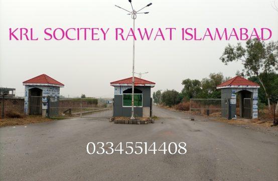 Krl housing society Rawat Islamabad 7 marla plot