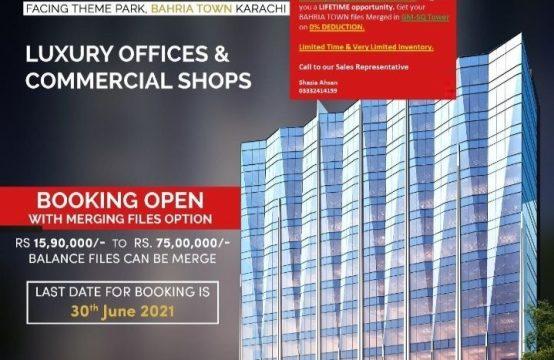 luxury Offices in Main Jinnah Avenue Bahira Town Karachi
